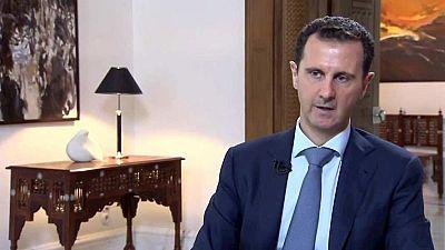 Assad reconoce la existencia de una coalici�n contra el terrorismo formada entre otros por Rusia e Ir�n