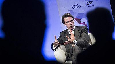 Aznar advierte al PP de que Ciudadanos podría arrebatarle la primacía del centro-derecha