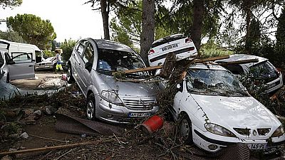 Continúa la búsqueda de dos personas desaparecidas en las inundaciones de Francia