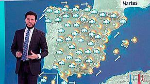 Las temperaturas descienden este miércoles con lluvias débiles en el norte peninsular