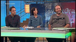 La Aventura del Saber. Enrique Villalobos, Susana Zaragoza y Esaú Acosta