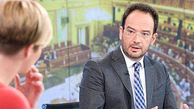 El portavoz del PSOE en el Congreso advierte que nadie se cree la previsión de déficit del Gobierno