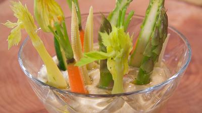 Receta de crema de garbanzos con verduras