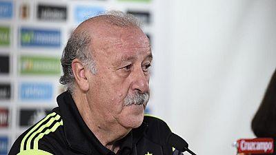 """Del Bosque: """"Esta fase de clasificación está siendo bastante difícil"""""""