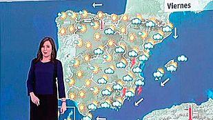 Se prevén chubascos y tormentas fuertes este viernes con alerta amarilla en Valencia, Alicante y Murcia