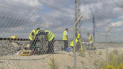 8.000 cámaras vigilan las lineas del AVE en España