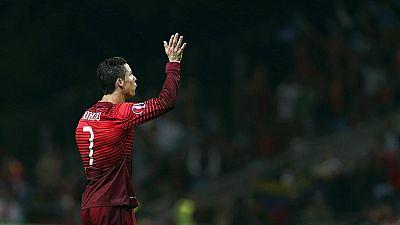 Cristiano ya está en la Euro a pesar del susto