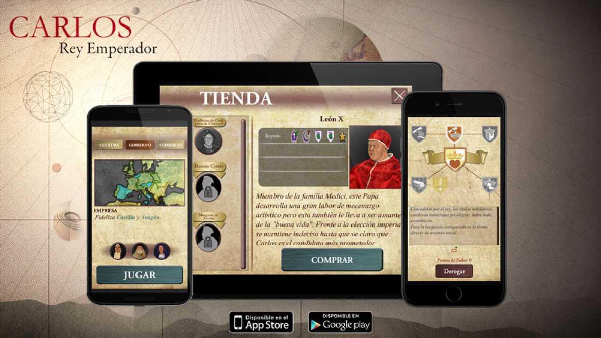 Sentirse en la piel de Carlos V ya es posible con el videojuego basado en la serie de TVE