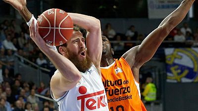 Real Madrid 82 - Valencia Basket Club 88