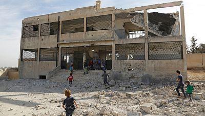 Las fuerzas del régimen de Al Asad logran avances en el oeste del país gracias al apoyo Rusia