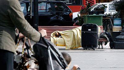 Se calcula que hay en España más de 15.000 personas viviendo en la calle