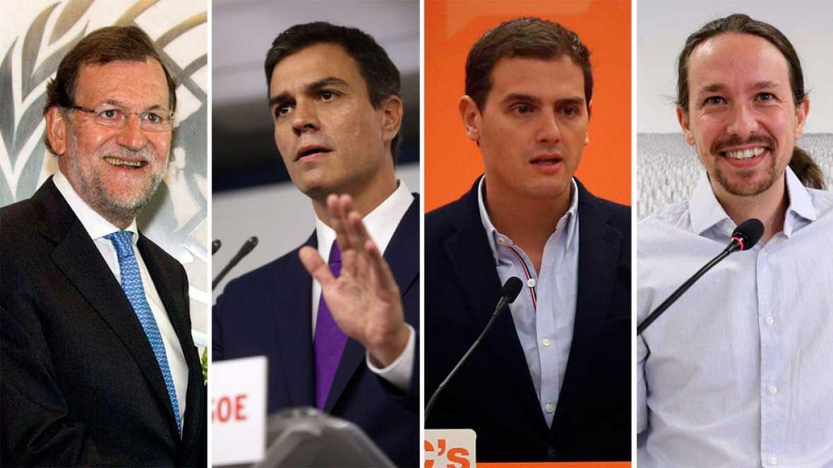 PP y PSOE dejan la puerta abierta a un debate a cuatro como piden Rivera e Iglesias