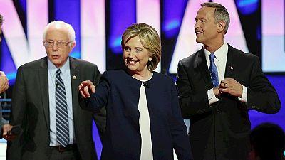 Clinton y Sanders monopolizan el debate de los candidatos demócratas a la presidencia de EE.UU.