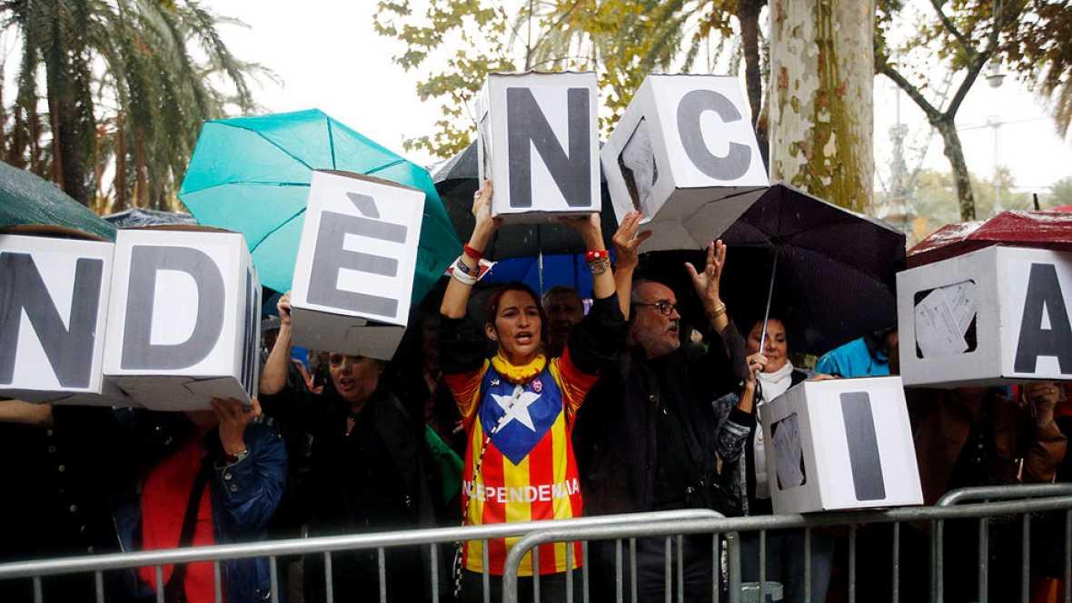 """El CGPJ apoya a los jueces catalanes por las protestas y la Generalitat defiende que son """"actos de solidaridad"""""""