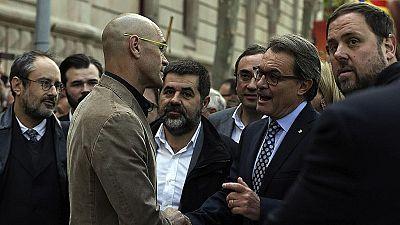 Junts pel Sí, Catalunya Sí que es Pot y el PSC rechazan el juicio a Artur Mas