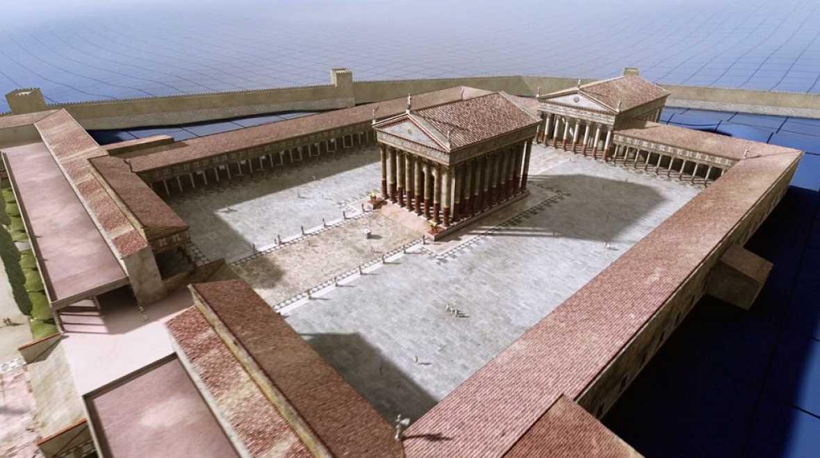 Ingeniería Romana - El recinto de culto de Tarraco