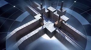 Los canales del acueducto de Nimes
