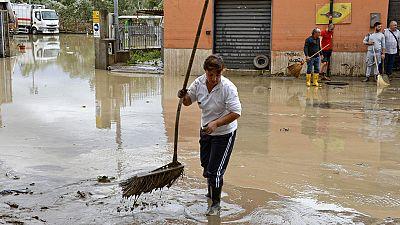 Ascienden a cinco las víctimas mortales por las fuertes lluvias en Italia