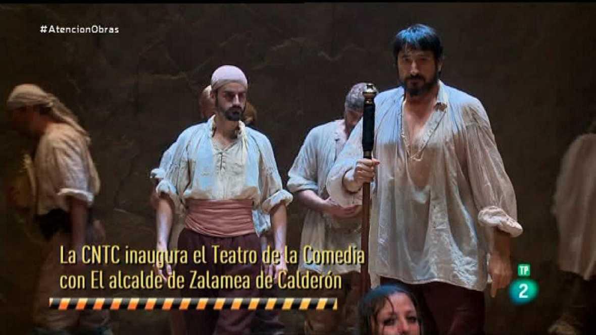 Atención obras - La Compañía Nacional de Teatro Clásico recupera el Teatro de la Comedia como sede.