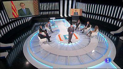 El Debat de La 1 - Les compareixences al TSJC de Mas, Ortega i Rigau