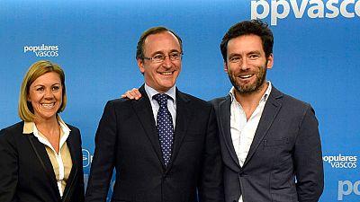 """Alonso, elegido nuevo presidente del PP vasco: """"Mi compromiso es de largo alcance"""""""