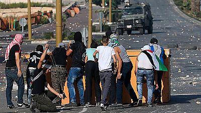 El 'viernes de la ira' acaba con cinco palestinos muertos y el incendio de la Tumba del Patriarca José