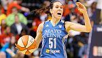 Anna Cruz ya presume de título de la WNBA en casa