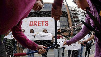 Miles de personas se manifiestan por toda España contra la pobreza y el TTIP