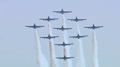 La Patrulla Águila del Ejército del Aire cumple 30 años