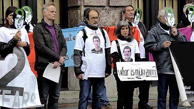 Los padres de Hodei Eguíluz, el joven vasco desaparecido en Amberes, en lucha para que las autoridades continúen investigando