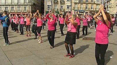 Actos solidarios por todo el país contra el cáncer de mama