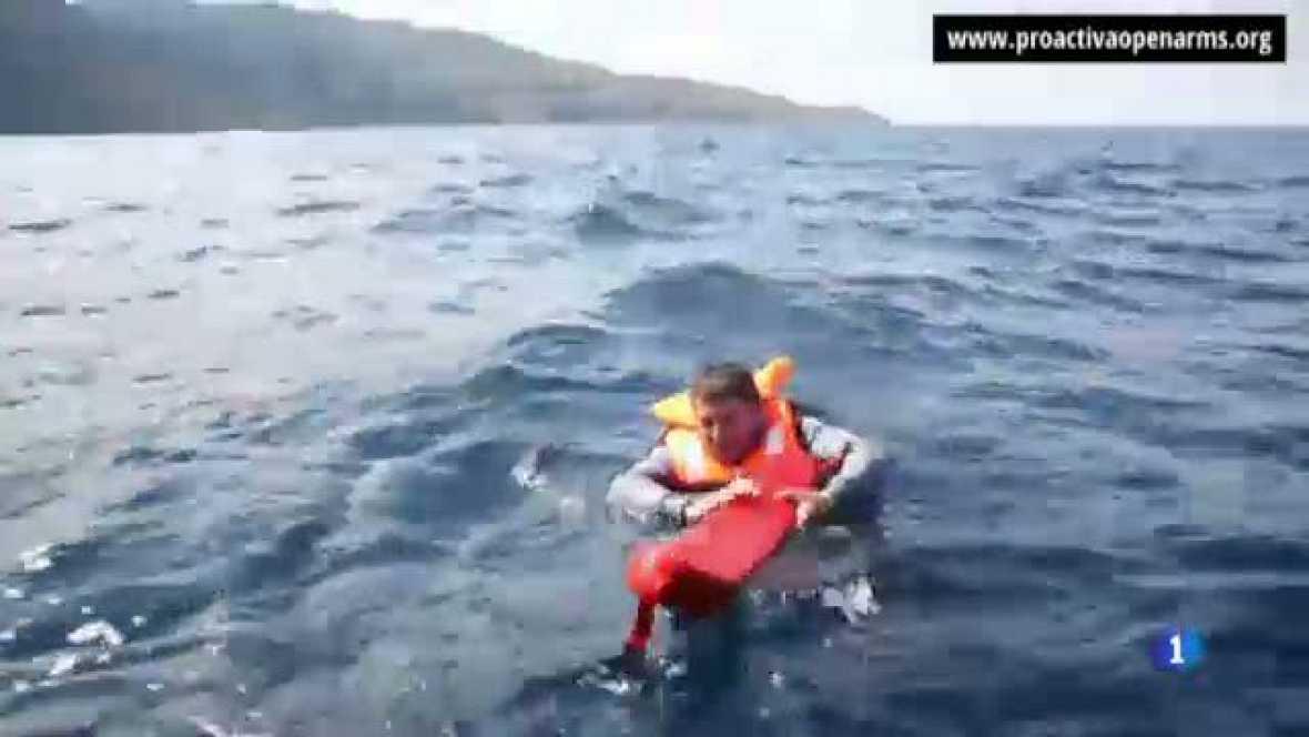 Un equip de socorristes catalans ens explica la seva tasca humanitària a Grècia amb els refugiats siris