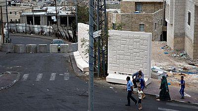 El Gobierno de Israel paraliza la instalación de bloques de hormigón en los barrios árabes de Jerusalén Este