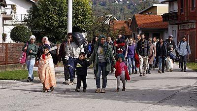 Eslovenia desplegará a su Ejército en las fronteras para reforzar los controles ante la entrada masiva de refugiados
