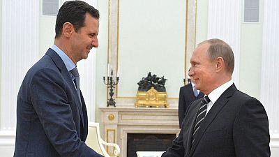 Asad se reúne por sorpresa con Putin
