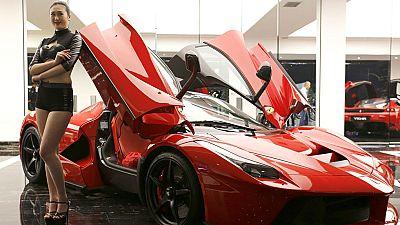 Salida a Bolsa de la empresa italiana Ferrari