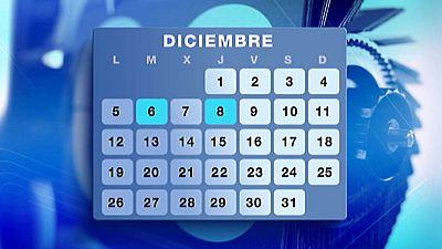 El calendario laboral del año que viene llega con ocho festivos nacionales, cuatro autonómicos y dos fiestas locales