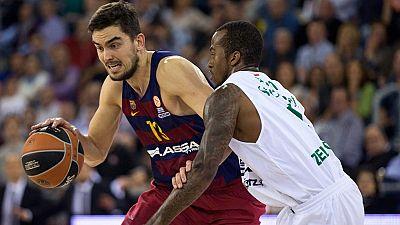 FC Barcelona Lassa 78 - Stelmet Zielona Gora 72