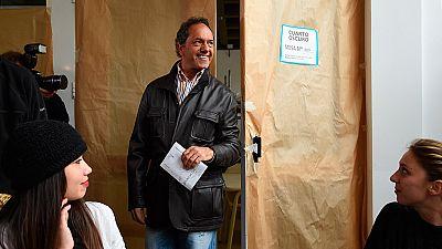Los argentinos eligen al sucesor de Cristina Fernández