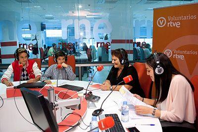 Taller de Radio de la Plataforma de Voluntariado RTVE