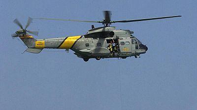 Continúa la busqueda de los militares desaparecidos el jueves en aguas del Atlántico