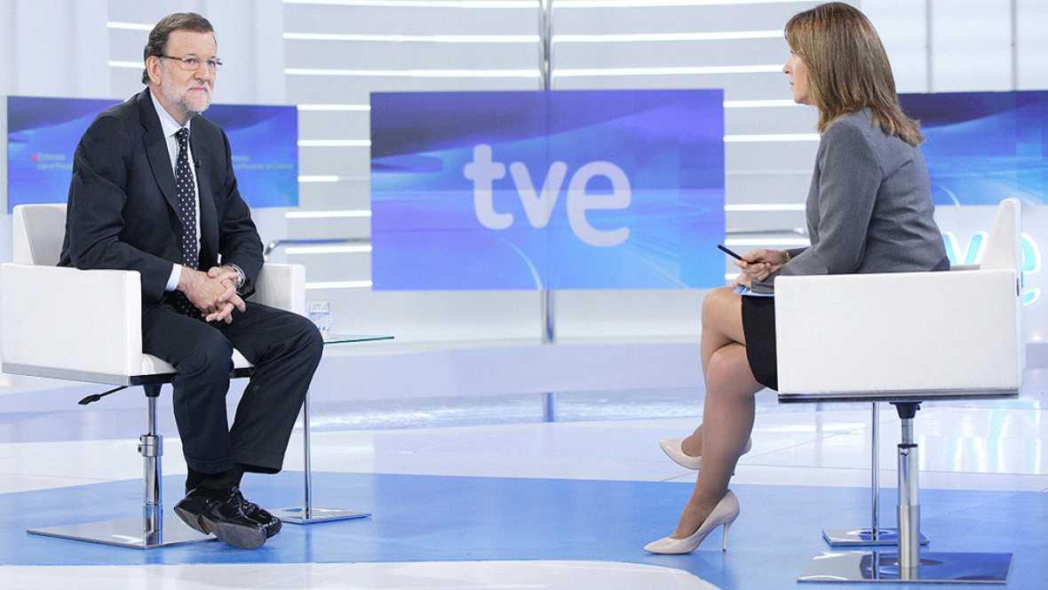 """Rajoy, sobre posibles pactos tras el 20D: """"Lo m�s f�cil es que gobierne el m�s votado"""""""