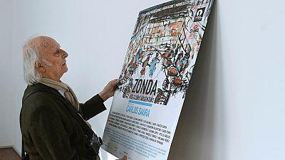 Saura presenta 'Zonda, el folclore argentino' en la Seminci