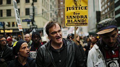 Los policías de Nueva York quieren boicotear las películas de Tarantino por llamarles asesinos en una manifestación