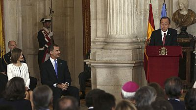 """Rajoy advierte ante Ban Ki-moon de que las """"ensoñaciones"""" de Artur Mas no caben en la ONU"""