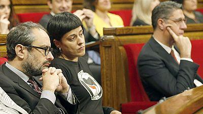 Junts pel Sí y la CUP quieren acelerar el proceso que PPC, PSC y Ciutadans intentan frenar