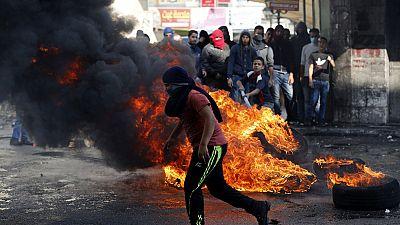 Dos palestinos muertos y un soldado israelí herido leve en Cisjordania
