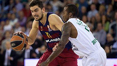 El Barcelona Lassa pas� por encima del Panathinaikos (77-52), en un partido coral, en el que el t�cnico del club azulgrana, Xavi Pascual, dio una lecci�n defensiva a su hom�logo en el banquillo griego, Aleksandar Djordjevic, que no encontr� solucione