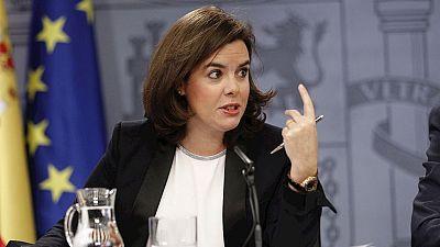 """Sáenz de Santamaría: """"El primer pacto por España es nuestra Constitución"""""""