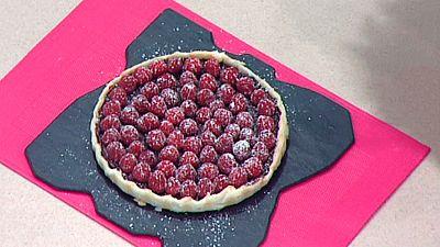 Escuela de pasteler�a: Tarta de chocolate y frambuesa